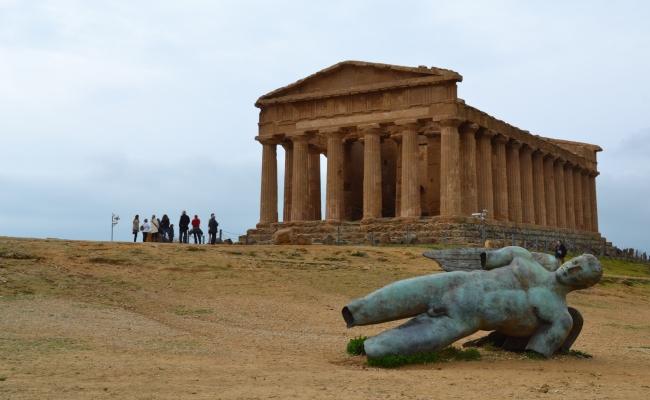 Сицилия зимой и без машины